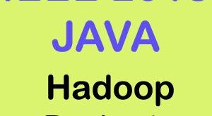 IEEE 2015 Java Hadoop Projects Title Abstract List Topics