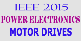 ieee 2015 power electronics motor drives project titles