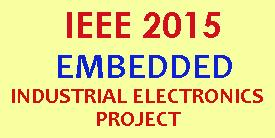 IEEE 2015 Industrial Electronics Abstract Title List Topics